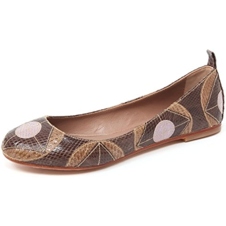 Shoe Scarpa Marrone WomanB06wd1fph1 Ballerina Geometric Maliparmi B4938 Whips lJK1Fc