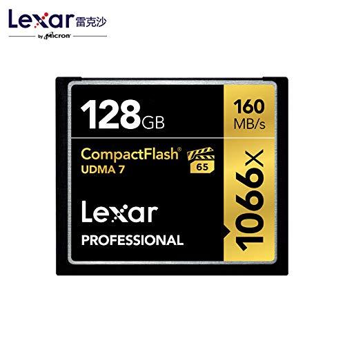 Lexar compactflash schede di memoria cf originale 32gb scheda cf 160mb/s 1066x ad alta velocità 64g/g per dslr videocamera hd 3d 4k dv scheda video 128 gb