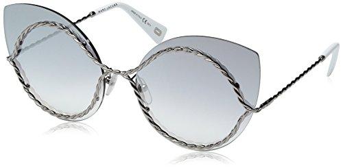 Marc Jacobs Damen MARC 161/S IC 6LB 61 Sonnenbrille, Ruthenium/Grey Ms Slv,