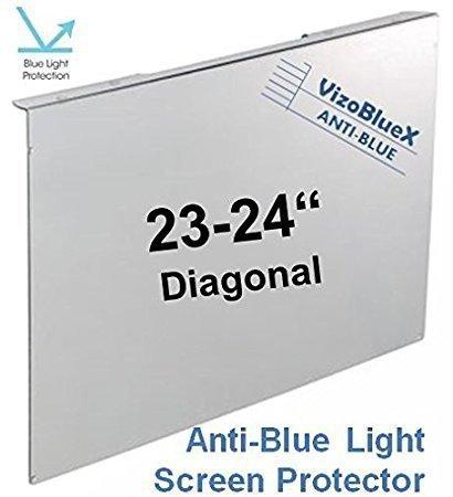 23 -24  Zoll VizoBlueX Blaulichtfilter für Computermonitor. Anti-Blaulicht Computer Monitor Bildschirmschutz-Panel (56,0 x 34,0 cm).  Für TV,LCD Fernseher und PC,Mac.