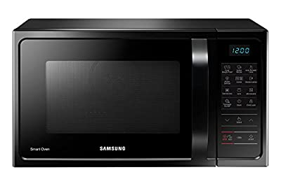 Samsung MC28H5023AK/TL 28-Litre 2900-Watt Convection MWO with Slim Fry Microwave Oven (Black)