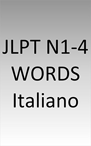JLPT N1-4 words Italy - Amazon Libri