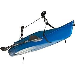 Système de levage résistant pour canoë, kayak et vélo - Comprend des instructions (français non garanti) - H2o