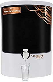 Eureka Forbes Aquaguard Marvel 8L RO+UV e-boiling+MTDS with Active Copper Water Purifier (White & Bl