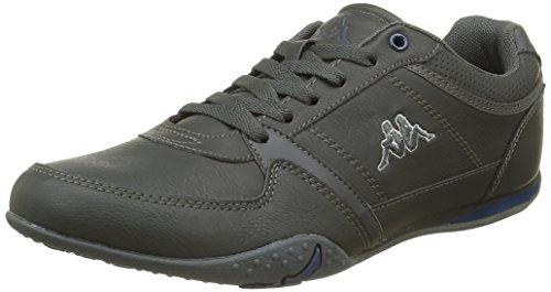 Kappa Herren Manille Sneaker Grau - Gris (Dk Grey/Dk Denim)