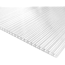 Placa/Panel de Policarbonato Alveolar Traslúcido, 8 mm de grosor, ...
