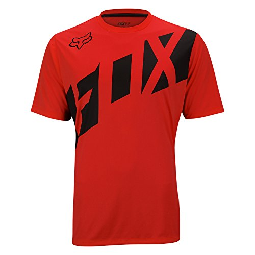 Fox Ranger - Maillot manches courtes - rouge/noir 2017 maillot cyclisme homme Rot