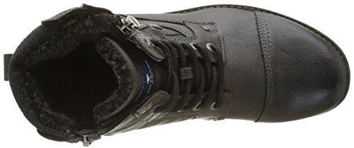 Tom Tailor 1680801, Bottes courtes avec doublure chaude homme Gris (Coal)
