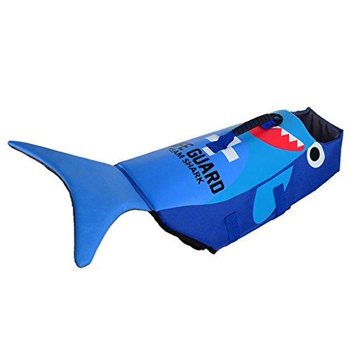 Hund Rettungsweste - Hündchen Schwimmweste Haustier Lebensretter Sicherheit Lebensretter Schwimmmantel Zum Schwimmen mit Verstellbare Schnalle Multi-Größe -