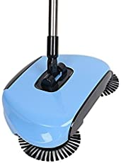 TQWMU® Portable Hand Dust Sweeper Broom Household Cleaning Vacuum Cleaners 360 Rotate Without Electricity