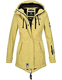 b60eb20454f8 Marikoo Damen Winter Jacke Winterjacke Mantel Outdoor wasserabweisend  Softshell B614