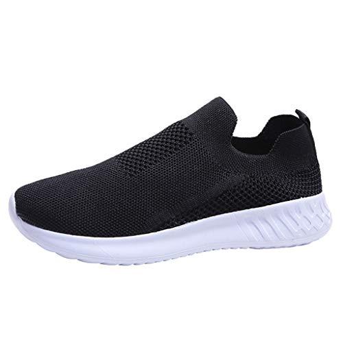 Refill_ Damen Schuhe Outdoor Schuhe Freizeit Slip On Bequeme Sohlen Sports Atmungsaktiv Mesh Schuhe Damen-Sneaker Fußballschuhe