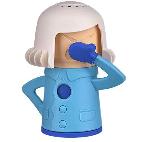 BESLIME Mikrowellenreiniger Angry Mama-Dampfreiniger Schneller Dampfreiniger für Mikrowelle Cool Mama Kühlschrankreiniger 1pcs
