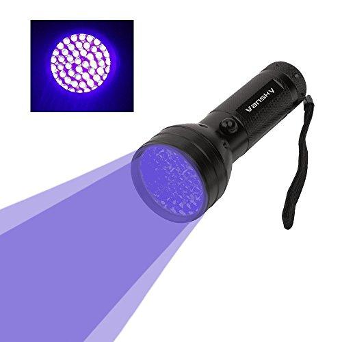 Vansky® UV Taschenlampe Schwarzlicht 51 LEDs UV Lampe