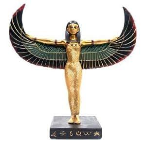 Schöne große stehende Isis Figur