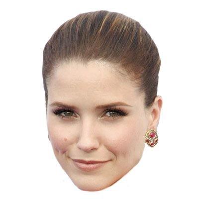 Celebrity Cutouts Sophia Bush Maske aus Karton