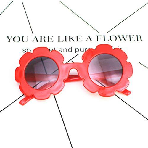onnenblumen-Sonnenbrille, UV-Schutz, für den Sommer und draußen, Spielzeug für Jungen und Mädchen 3 ()