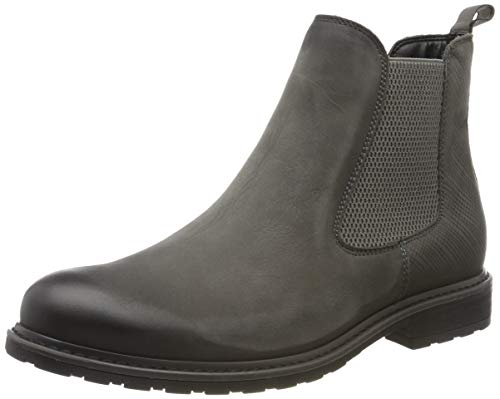 Tamaris Damen 1-1-25056-23 Chelsea Boots, Grau (Stone/Struct. 232), 39 EU