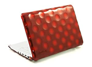 Hard Candy Cases Bubble Shell Case for Apple MacBook 13-inch, Red, (BS-MAC13-RED)