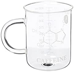 Idea Regalo - Thumbs Up Chem Mug Tazza Laboratorio Chemistry, Vetro, Trasparente