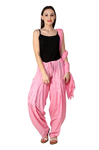 Pistaas Full cotton Patiala Salwar With Dupatta (PASTLE PINK