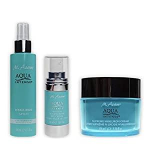M. Asam® AquaIntense® Supreme Hyaluroncreme 100ml + Augencreme 30ml + Hyaluron Spray 140ml