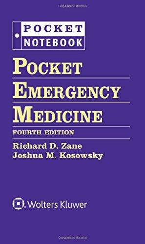 Pocket Emergency Medicine. Pocket Notebook Series por Richard Zane