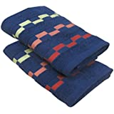 Bianca Sonoma 2 Piece 450 GSM Cotton Hand Towel Set - Navy