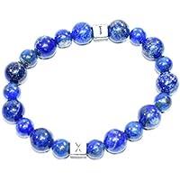 Bracelet Lapis Lazuli 8 MM Birthstone Handmade Healing Power Crystal Beads preisvergleich bei billige-tabletten.eu