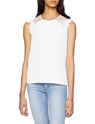 PIMKIE CHSS18 Lumboy, Blusa para Mujer, Blanc (Blanc 912a09), Medium (Talla del Fabricante: Medium)