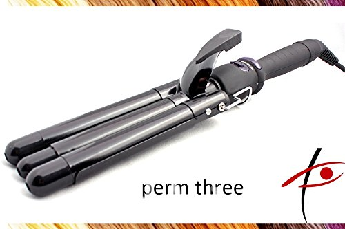 Professional Perfect Heat 3 Barrel Waver Iron 25mm (Barrel Waver Lockenstab)