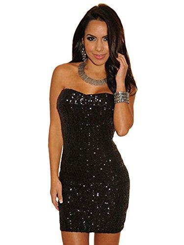 new-mesdames-plus-taille-noir-a-paillettes-mini-robe-tube-club-wear-soiree-dete-robes-taille-xl-14