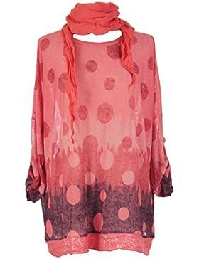 TEXTUREONLINE - Camisas - Lunares - para mujer