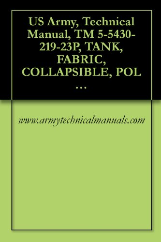 US Army, Technical Manual, TM 5 5430 219 23P, TANK