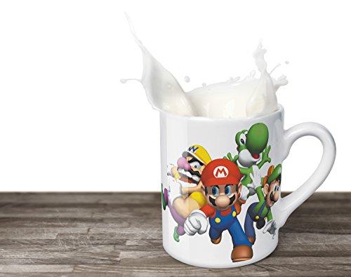 Super Mario-Luigi-Yoshi-Warrior-330ml-Tazza da caffè
