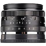Meike Mk-35mm–F1.7Grande ouverture fixe APS-C de mise au point manuelle objectif pour appareil photo Olympus EM1EM5Em10EP5EPL3Epl5Epl6Epl7Pen-F Panasonic Lumix GM1GM2GX1GX2GX7GX8GF5GF6appareil photo GH3GH4et M4/3Mont Caméra sans miroir