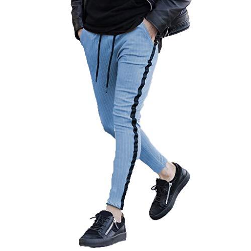 Mymyguoe Herren Hose Stoffhose Herren Hose Slim Fit Jeanshosen für Männer Herren Hose Regular Slim Fit Style Hose Jogginghose Herren-Hosen Slim Fit Jogging Hose Jogger Jeans Pants -