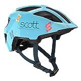 Scott Spunto Kinder Fahrrad Helm Gr. 46-52cm blau 2019