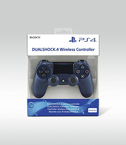 PlayStation 4 - DualShock 4 Wireless Controller, Midnight Blue