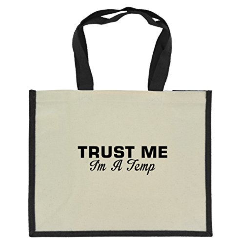 trust-me-im-a-temp-in-black-print-jute-large-shopping-bag-with-black-handles-and-trim
