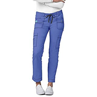ADAR UNIFORMS Medical Scrub Pants – Women's Hospital Uniform Trousers, Color CBL | Size: XS