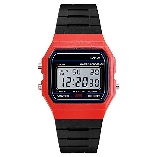 Obestseller Armbanduhr Herren Damen Gummi LED Datum Sport Armband Digital Armbanduhr Herren Analog Digital Militär Sport LED wasserdichte Armbanduhr