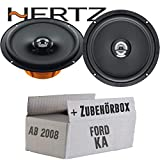 Hertz DCX 165.3-16cm Koax Lautsprecher - Einbauset für Ford KA 2 RU8 - JUST SOUND best choice for caraudio