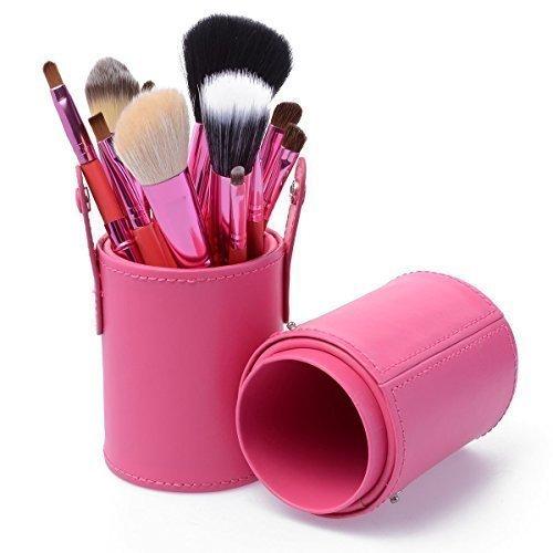KanCai® Maquillage Pinceaux, Luxebell maquillage professionnel Kit Brush Set 12PCS Cosmétique Blending Fard à Paupières Fondation Concealer Brushes Poudre Tool