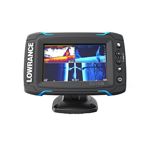 Lowrance ELITE-5 TI Med/High/ Downscan Fishfinder by Lowrance (Gps Lowrance-5)