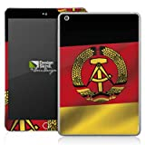 Apple iPad Mini 2 Case Skin Sticker aus Vinyl-Folie Aufkleber DDR Flagge Fahne