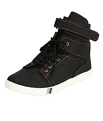 Aadi Enterprises Men's Black Casual Shoes(10)