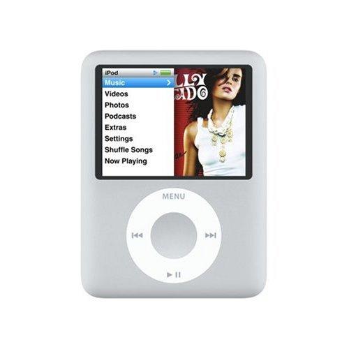 iPod nano 4Go silver (3ème génération) - Produit reconditionné - garantie 3 mois