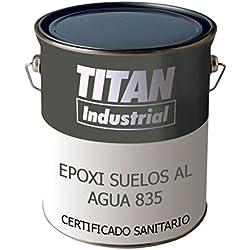 Pavimenti in resina epossidica Acqua 835 Titan - 4 L, 4706 Red