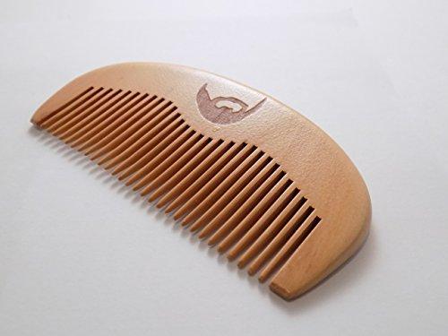 Peigne pour la barbe – Haute qualité, antistatique, sans accroc – Idéal pour huiles et baumes – Format de poche – The Bearded Gent